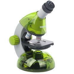 Мікроскоп SIGETA MIXI 40x-640x GREEN (з адаптером для смартфону)